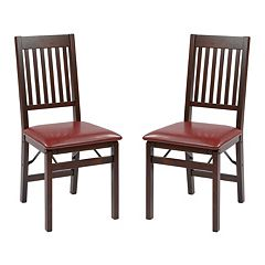 OSP Designs Hacienda 2 pkFolding Chair Set