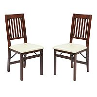 OSP Designs Hacienda 2 pkFolding Chair Set