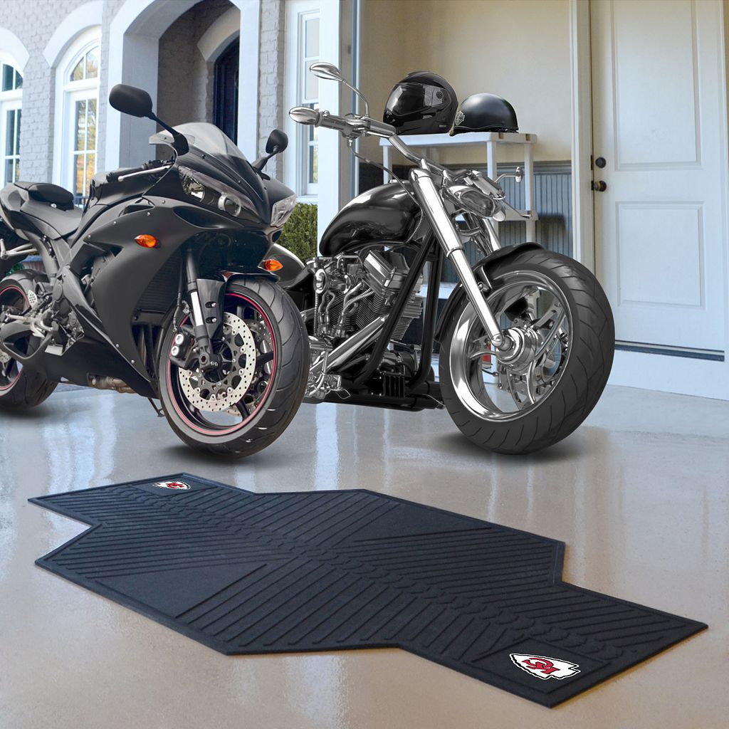 Kansas City Chiefs Motorcycle Mat