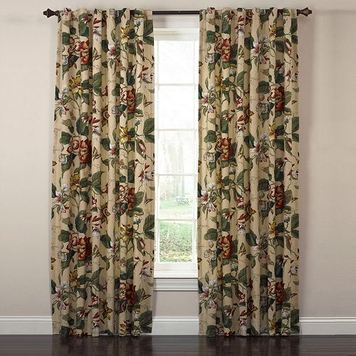 Waverly Laurel Springs Window Curtains - 42'' x 100''