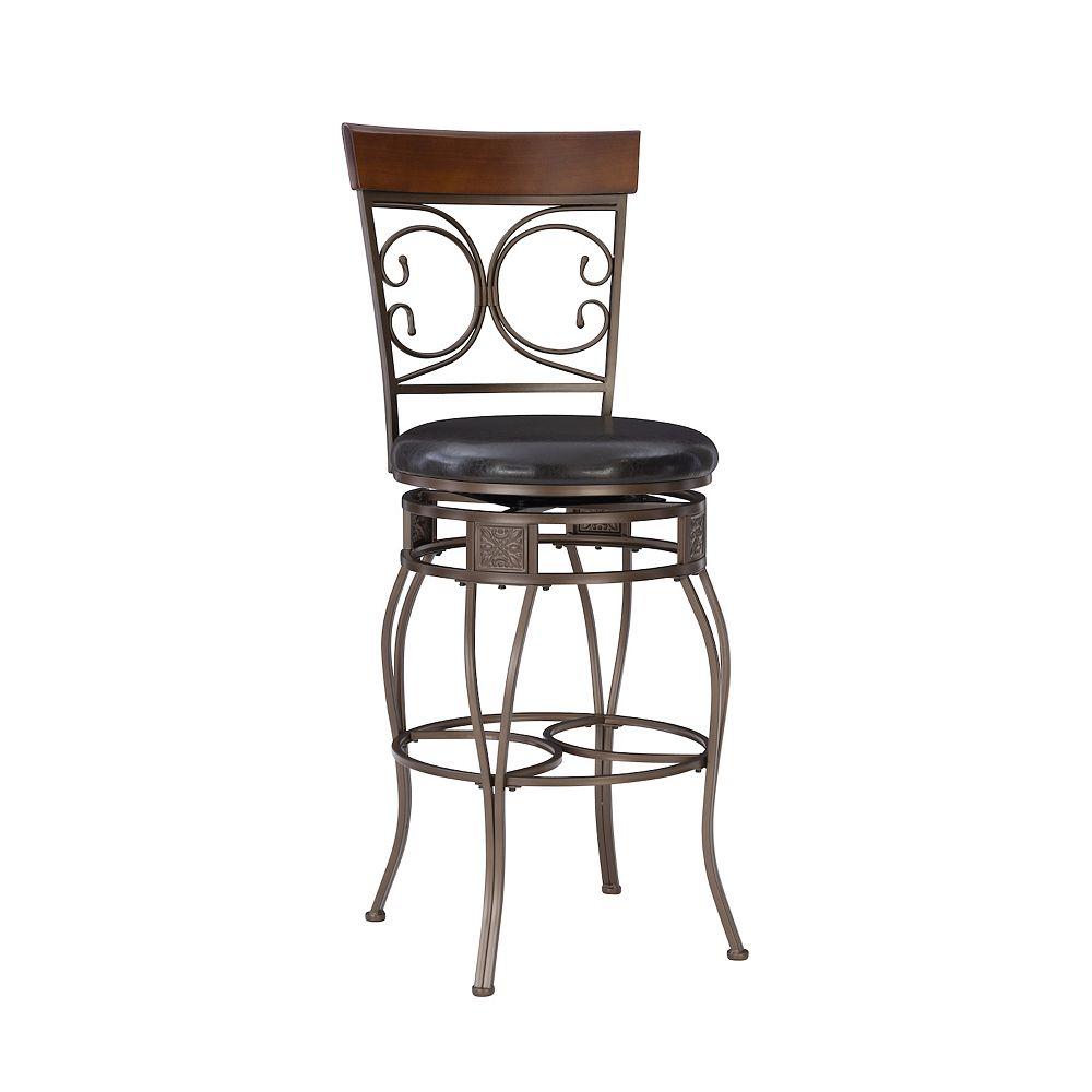 Terrific Big Tall Scroll Bar Chair Creativecarmelina Interior Chair Design Creativecarmelinacom