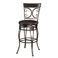 Big & Tall Scroll Bar Chair