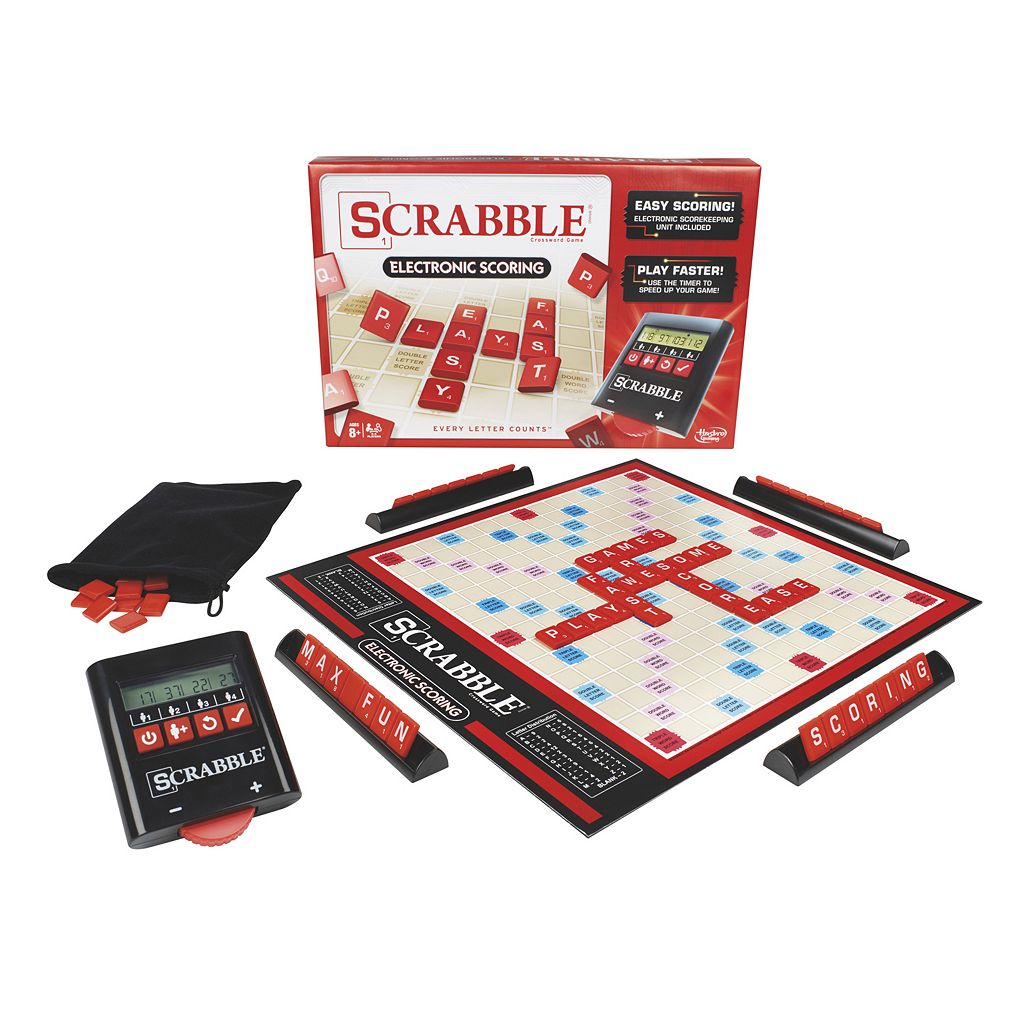 Scrabble Electronic Scoring Game by Hasbro