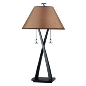Wright Oil-Rubbed Bronze-Finish Table Lamp