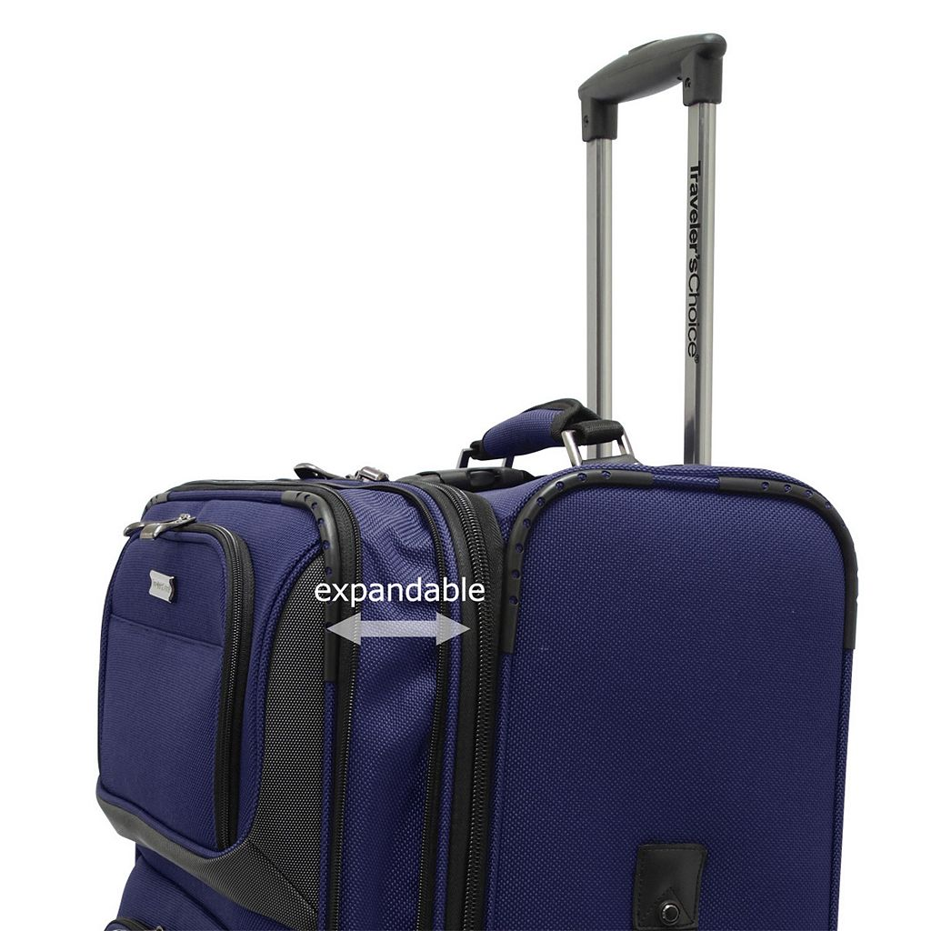Traveler's Choice Conventional II 26-Inch Wheeled Luggage