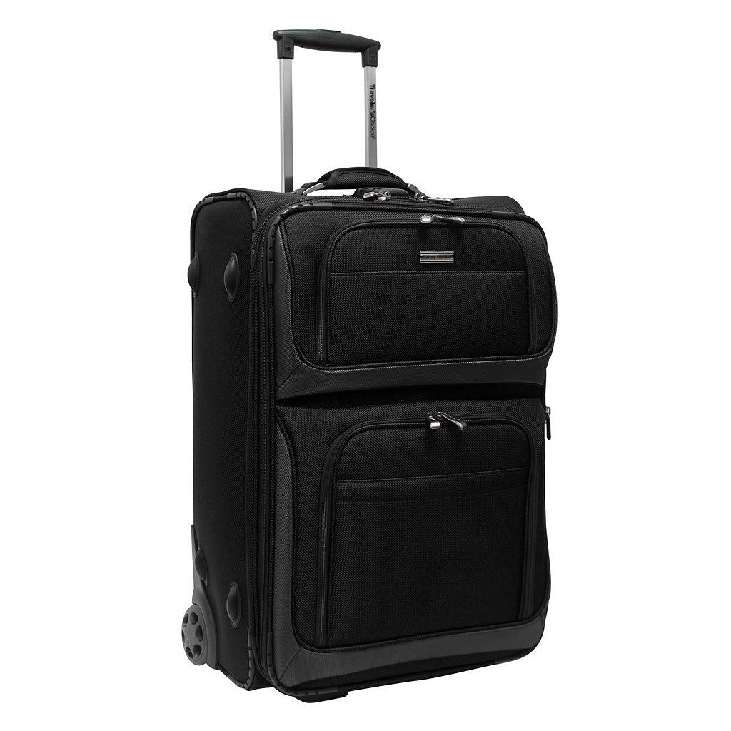 Traveler's Choice Conventional II 26-Inch Wheeled Luggage