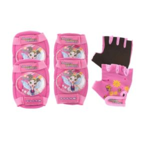 Titan Flower Princess Bike and Skate Pad Set - Kids