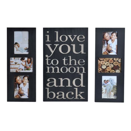 Melannco 3 Piece I Love You To The Moon Back Fashion Collage