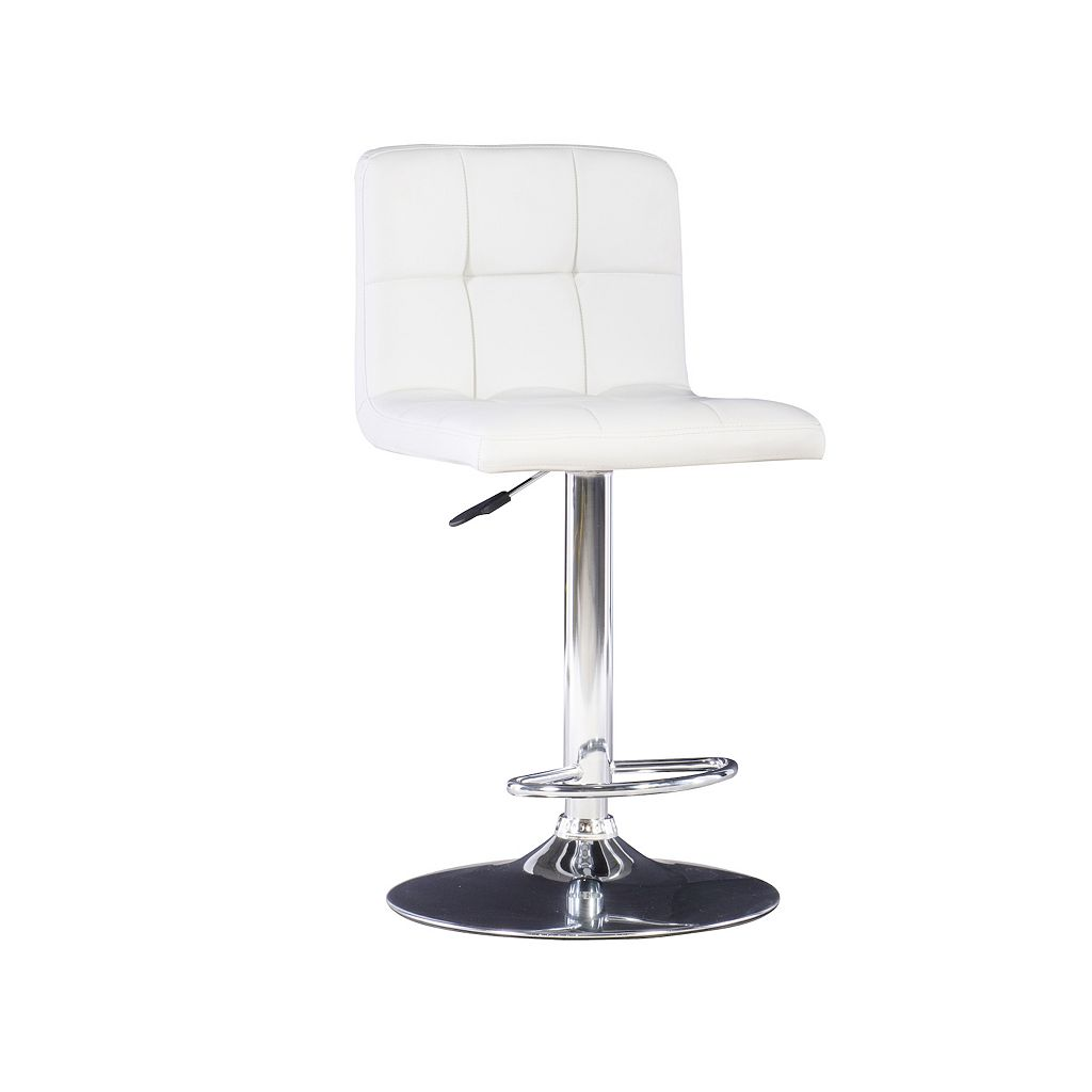 Quilted Adjustable Bar Chair