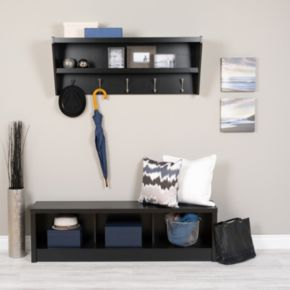 Prepac Entryway 5-Hook Shelf
