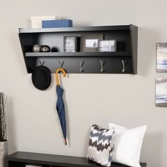 Prepac Entryway 5-Hook Shelf