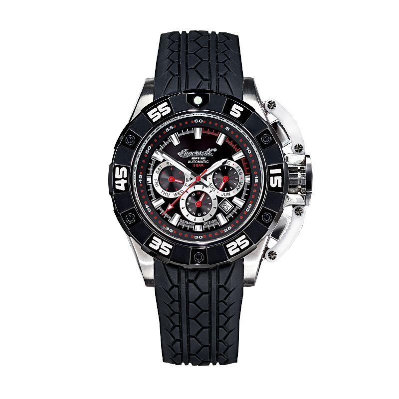 Ingersoll Men's Bison No. 40 Automatic Watch (Black)