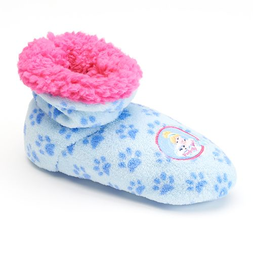 Toddlers Slippers Girls Princess Castle Boot Slippers ~ Childrens