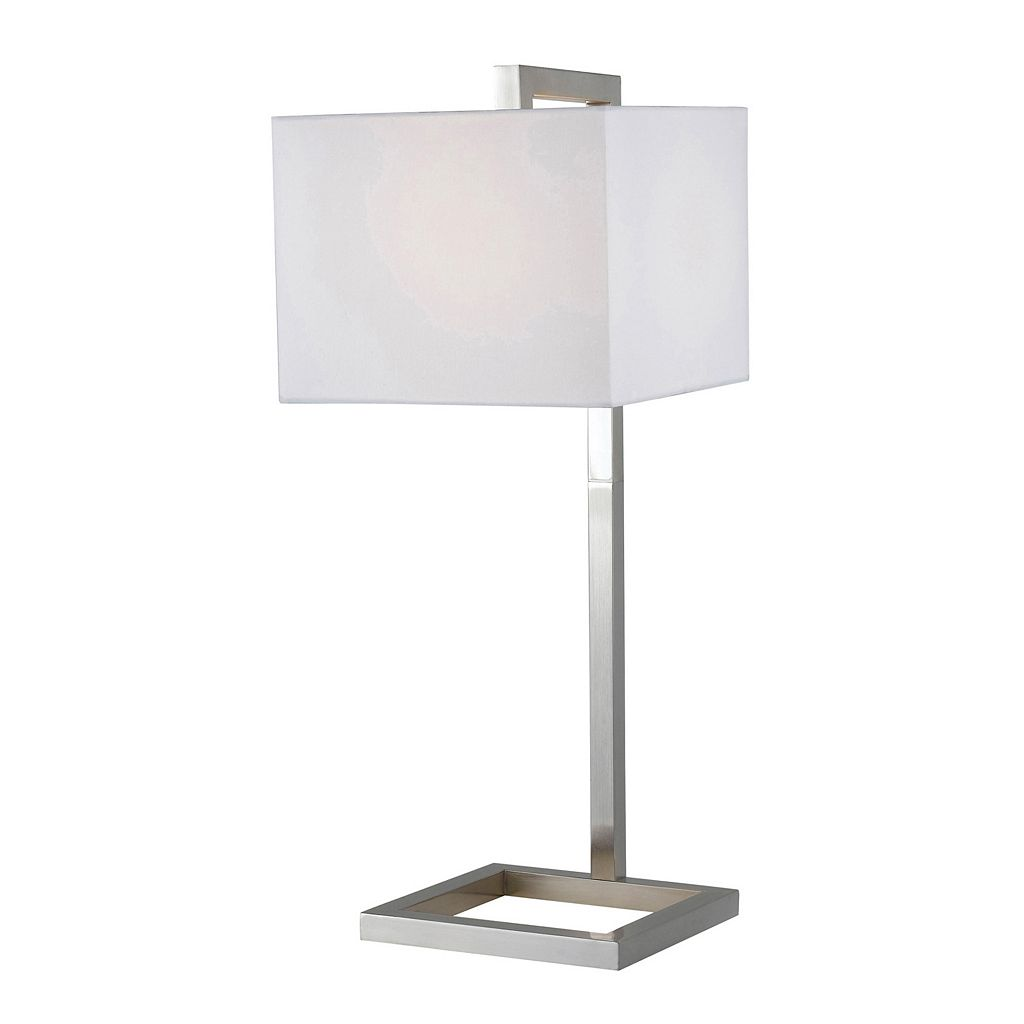 Four Square Table Lamp