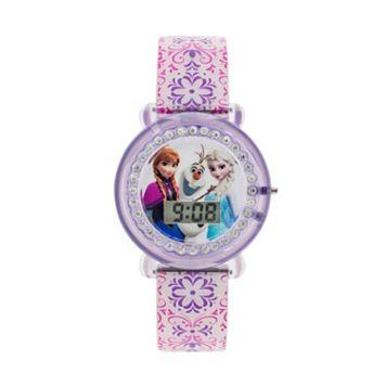 Disney Frozen Anna, Elsa & Olaf Kids' Digital Watch