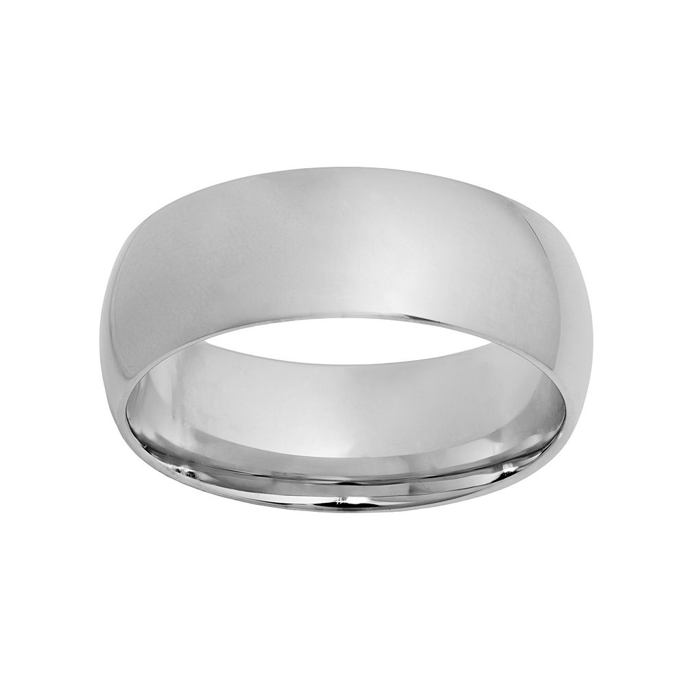 Sterling Silver Wedding Band - Men