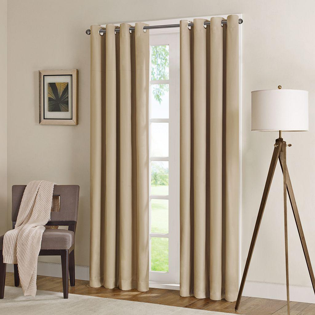 Madison Park Wingate Herringbone Blackout Window Curtain - 50
