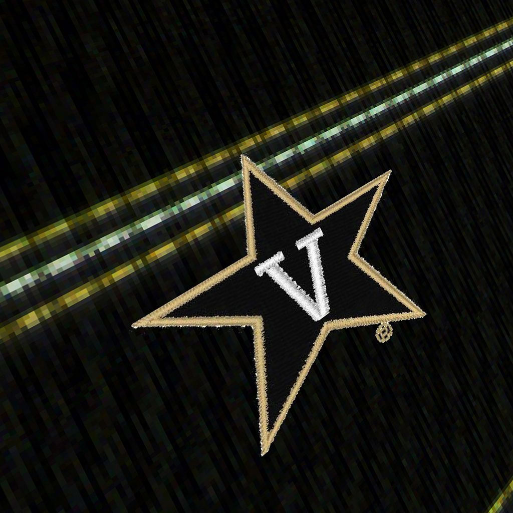 Men's Antigua Vanderbilt Commodores Deluxe Striped Desert Dry Xtra-Lite Performance Polo