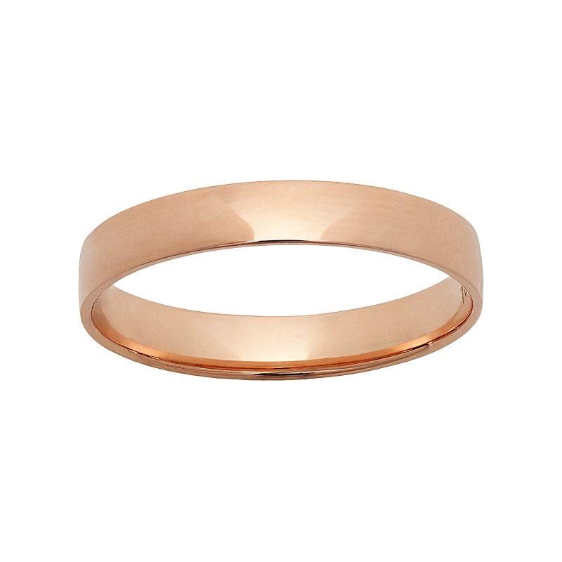 10k Rose Gold Wedding Ring