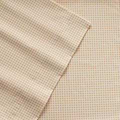 IZOD Gingham Sheets - Twin