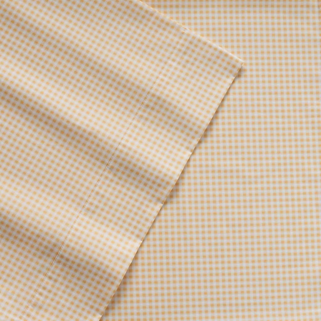 IZOD Gingham Sheets - Full