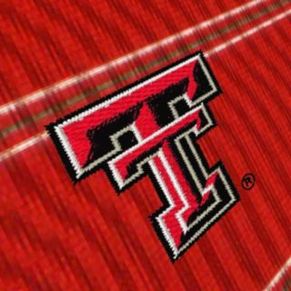 Men's Antigua Texas Tech Red Raiders Deluxe Striped Desert Dry Xtra-Lite Performance Polo