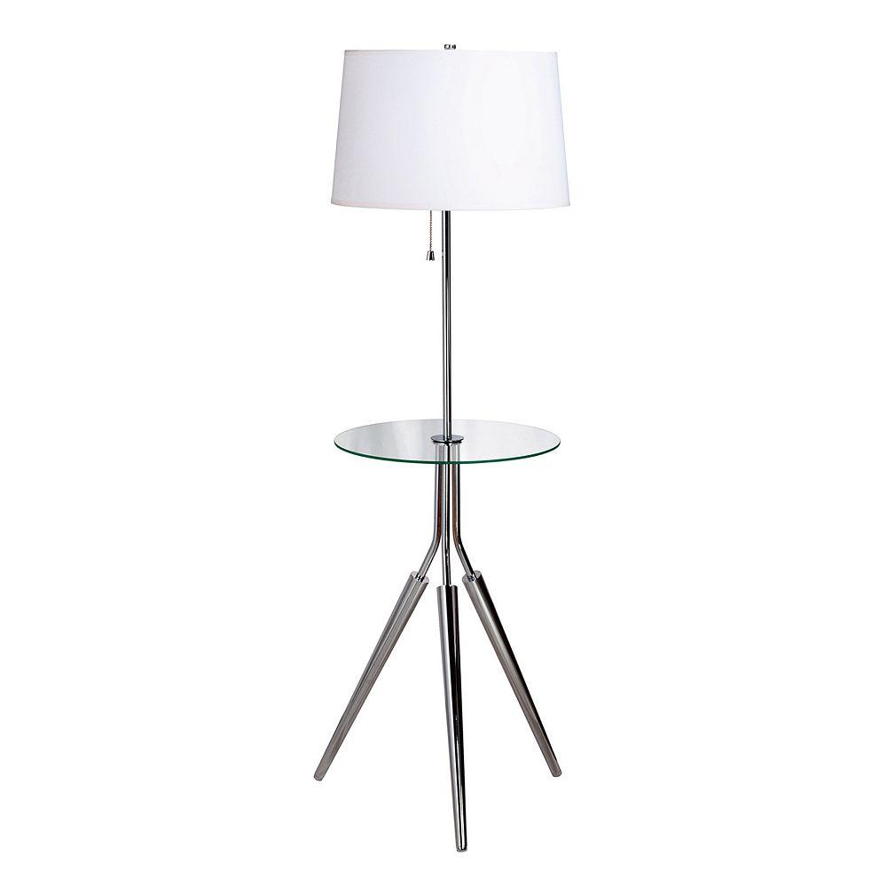 Rosie Floor Lamp & Table