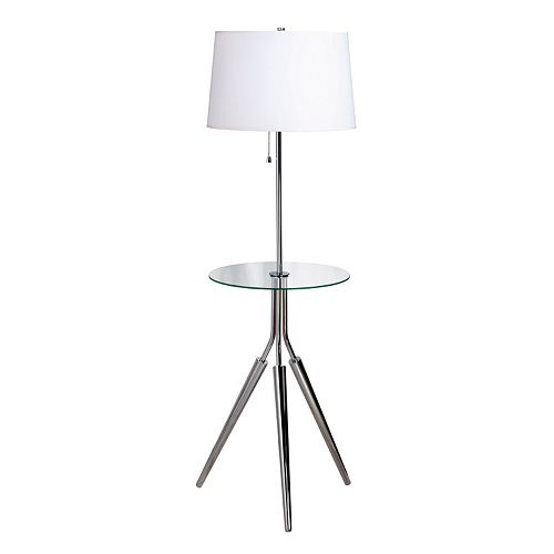 Rosie Floor Lamp & Table