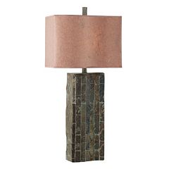 Ripple Slate Table Lamp