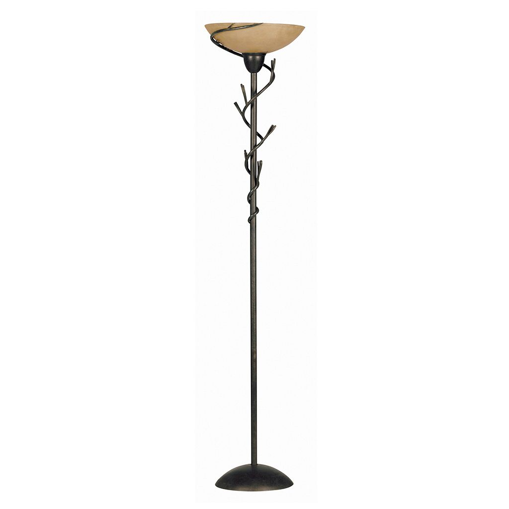 Twigs Torchiere Floor Lamp