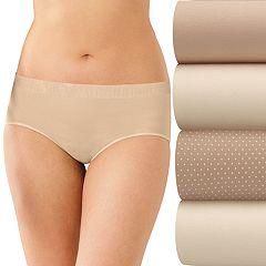 Bali Comfort Revolution 3-pack + 1 Bonus Seamless Hipster Panties K790