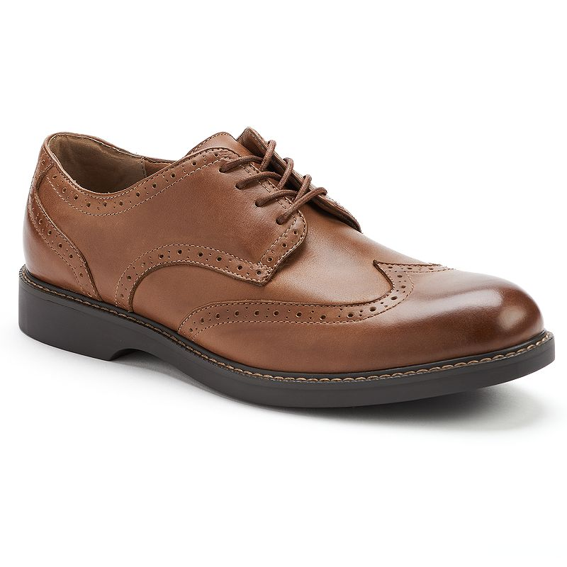IZOD Brown Kieler Men's Casual Wingtip Oxford Shoes