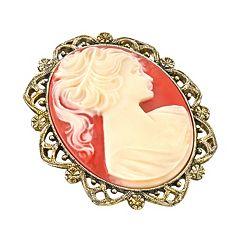 1928 Cameo Pin