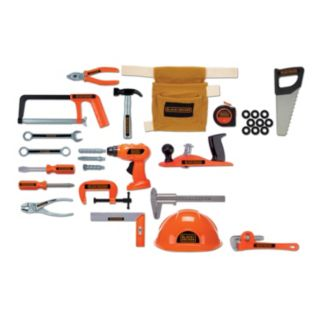Black and Decker 50-pc. Toy Tool Set
