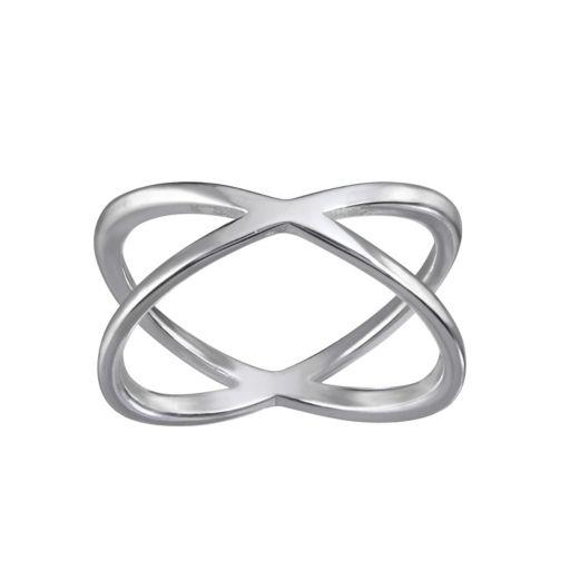 LC Lauren Conrad Crisscross Ring