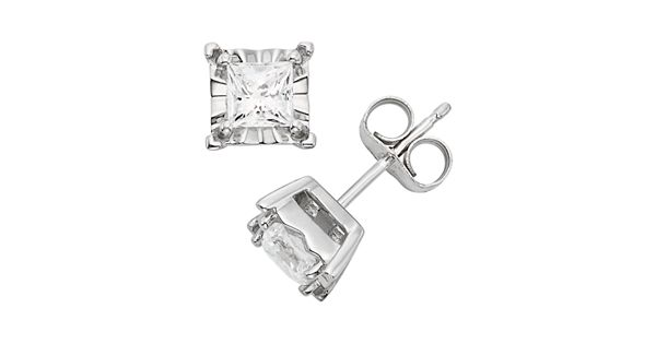 Carat Diamond Earrings Kohls