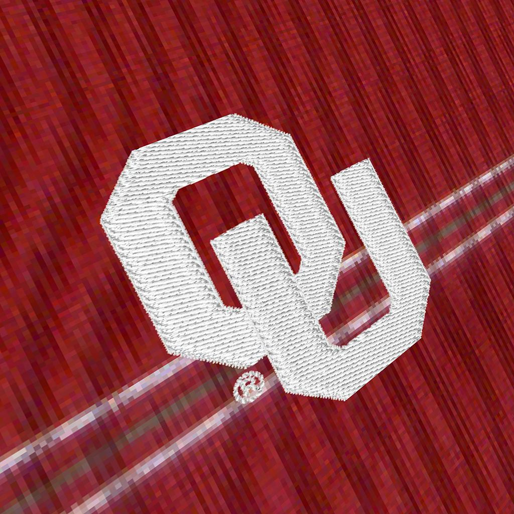 Men's Antigua Oklahoma Sooners Deluxe Striped Desert Dry Xtra-Lite Performance Polo