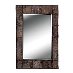 Birch Bark Wall Mirror