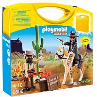 Playmobil Western Carry Case Set
