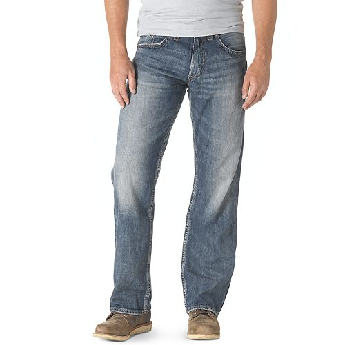 dc4e83fe Men's Silver Jeans Zac Relaxed Straight Jeans