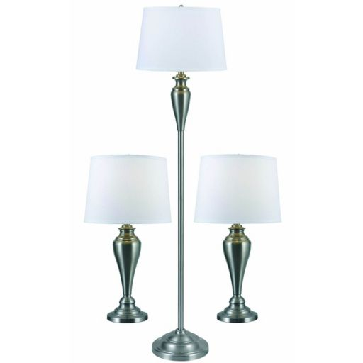 Edson 3-piece Floor and Table Lamp Set