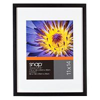 Snap 11'' x 14'' Matted Frame
