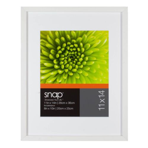 "Snap 11"" x 14"" Matted Frame"