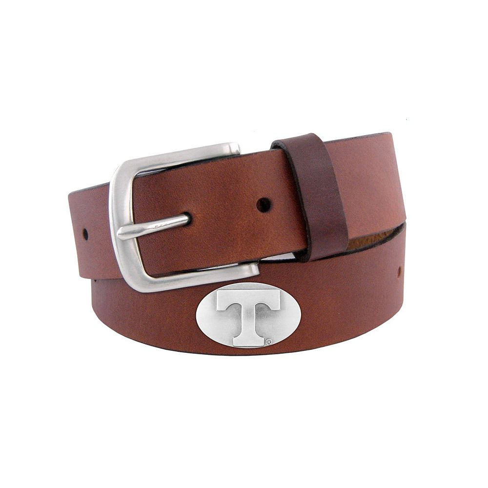 Men's Zep-Pro Tennessee Volunteers Concho Leather Belt