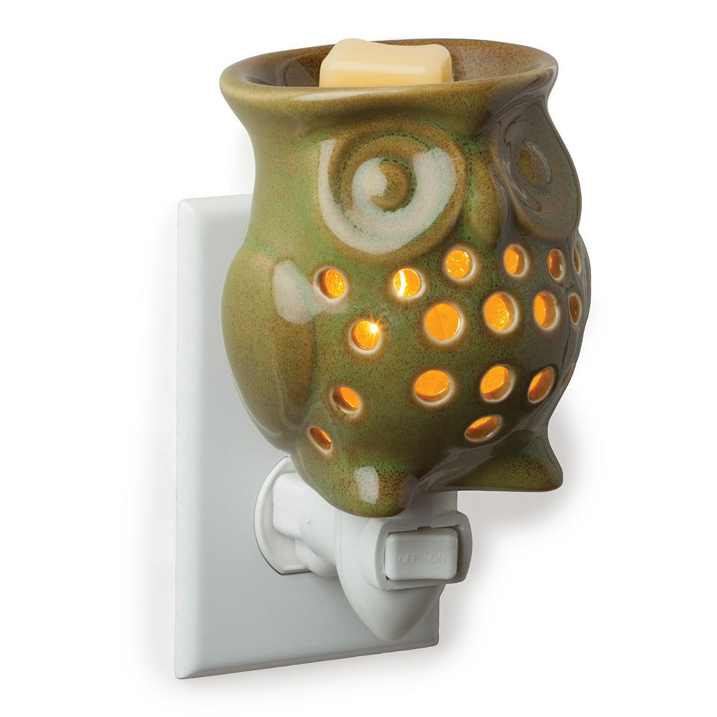 Candle Warmers Etc. Owl Pluggable Candle Warmer