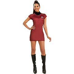 Star Trek Red Dress Costume Adult by