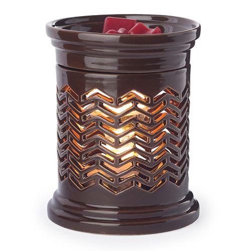 Candle Warmers Etc. Chevron Illumination Candle Warmer