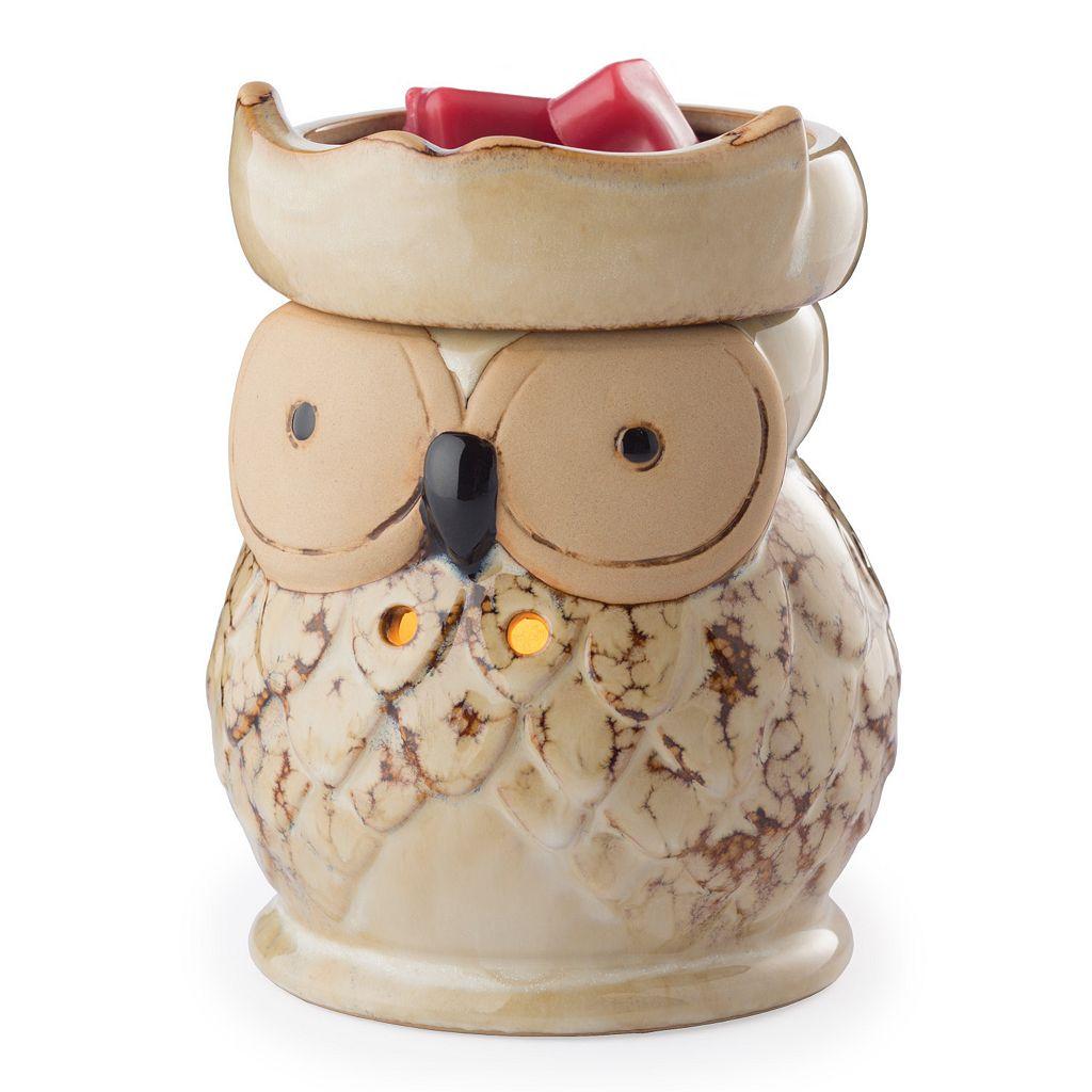 Candle Warmers Etc. Owl Illumination Candle Warmer