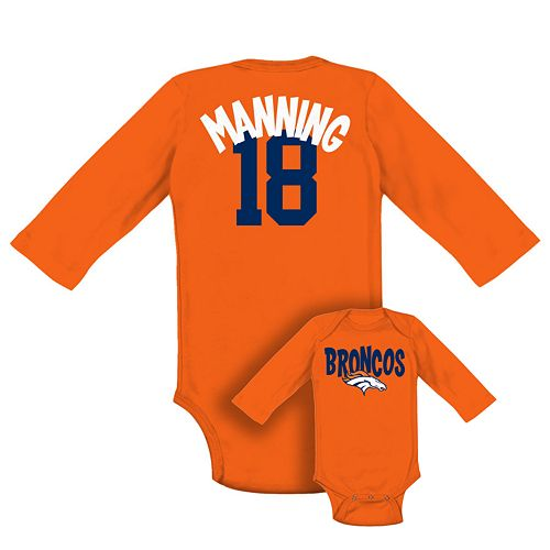 Denver Broncos Peyton Manning NFL Bodysuit - Baby 01f68c5f8