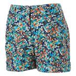 Candie's® Floral Linen Shorts - Juniors